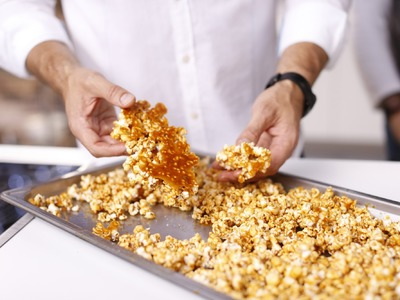 How to make Salted Caramel Popcorn with Curtis Stone - Coles