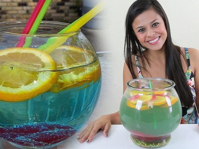 How to make The Fish Bowl - Tipsy Bartender