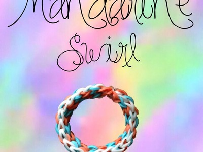 How to: Mandarine Swirl on MONSTER TAIL bracelet tutorial