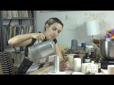 How to Repair Bubbles in a Candle : Soaps & Candles