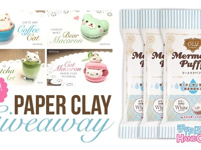 Huge Mermaid Puffy Paper Clay Giveaway with 1127Handcrafter!! [CLOSED]