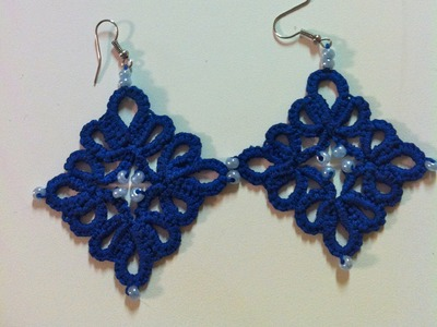 Its Time To Tat again ( Cluster Diamond Earrings)