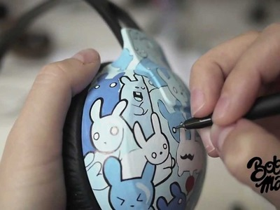 Making of the bunny headphones