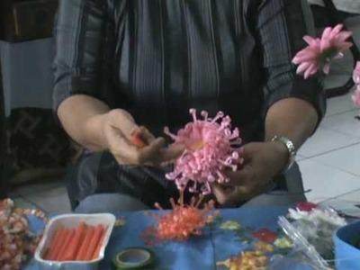 Making plastic flowers - Tips