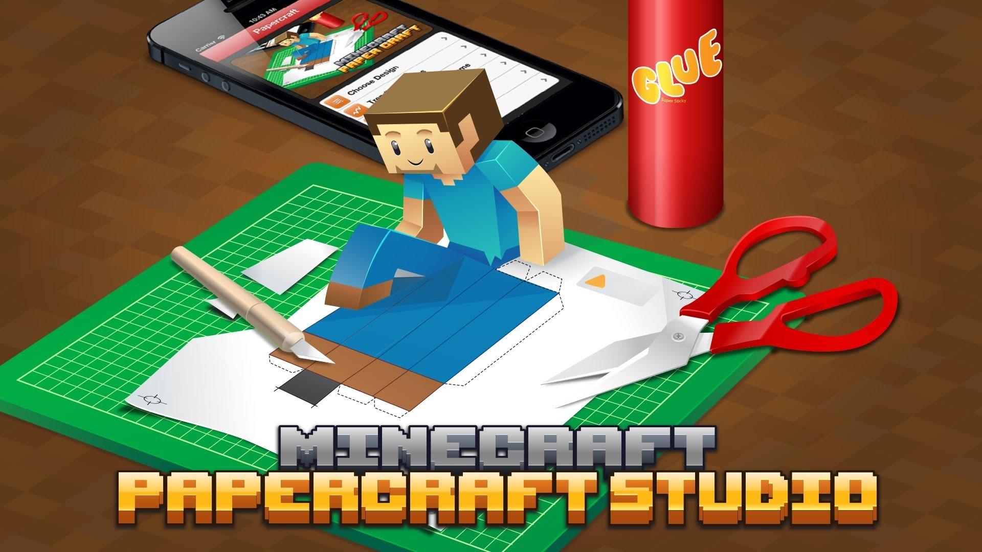 Minecraft Papercraft Studio App Trailer