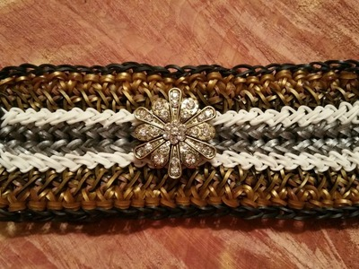 NEW! Madison Avenue bracelet on the Rainbow Loom 3 Looms
