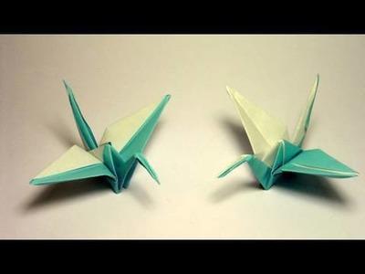 Origami Tsuru - 2 colors