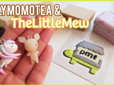 Package Opening: PolymomoTea & TheLittleMew! Polymer clay charms