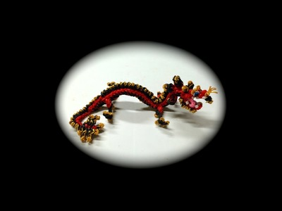 Part 4.5 Rainbow Loom Chinese Dragon Baby (1 Loom)