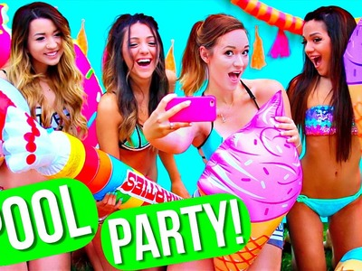 Pool Party Ideas! DIY Decor, DIY Snacks, Essentials + More! AlishaMarie