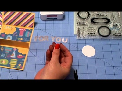 Pop Up Card Gift Holder Tutorial