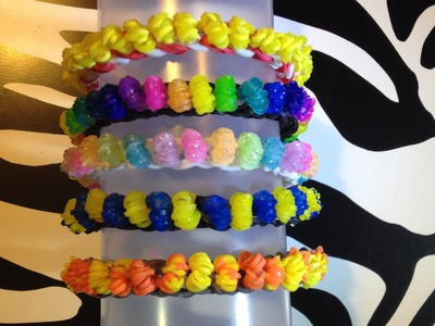 Popcorn Bracelet (Easy Version) on Rainbow Loom