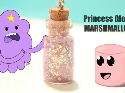 ★ Princess Glob's Marshmallow Bottle Charm ★