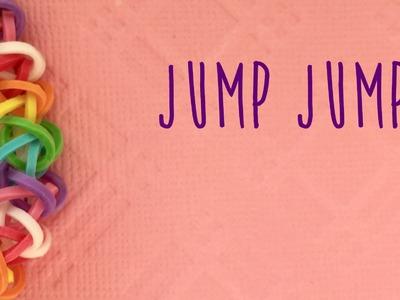 Rainbow Loom Bands Jump Jump Easy Tutorial