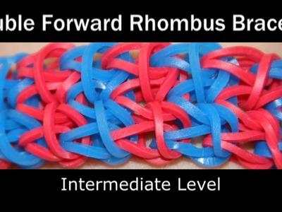 Rainbow Loom® Double Forward Rhombus Bracelet