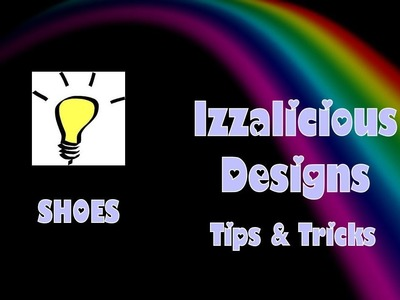 Rainbow Loom - How I make my figures shoes.boots - gomitas