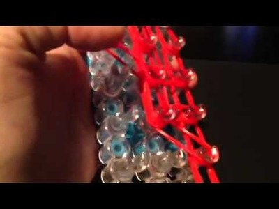 Santa Claus Charm On The Rainbow Loom