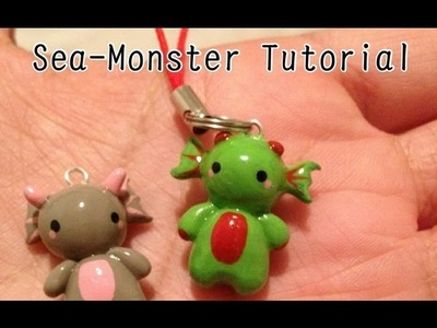 Sea Monster Charm Tutorial