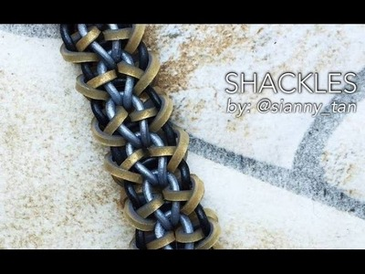 SHACKLES Hook Only bracelet tutorial