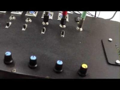 Simple homemade audio mixer