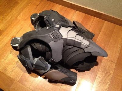 Spartan Locke Inside Look - Movable EVA Foam Undersuit