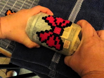 This how I make my  perler bead hair bow.