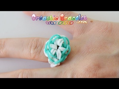 Tutoriel Creastic Bracelet Starburst Ring