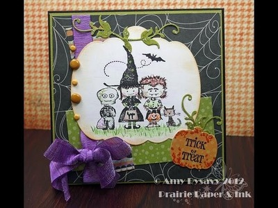 AmyR's 2012 Halloween Series - Card 8