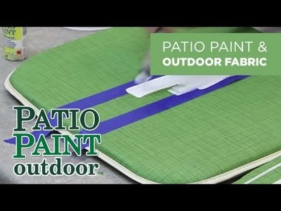 DecoArt® Tips & Tricks: Outdoor Fabric Projects Using Patio Paint™
