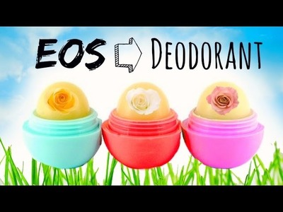 DIY All Natural Deodorant that ACTUALLY Works with EOS Container!