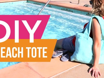 DIY: Beach Tote Bag ∞ Trash to Fab w. AnneorShine