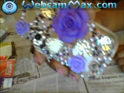 DIY: Blinged out phone case. lux addiction inspired