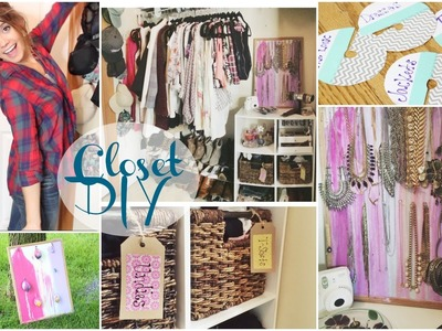 DIY Closet Organization | Tumblr.Pinterest Inspired!