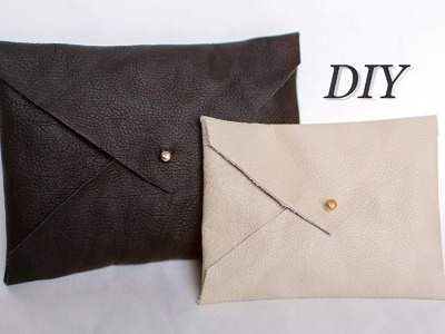 DIY ENVELOPE CLUTCH - EASY CHRISTMAS PRESENT IDEA