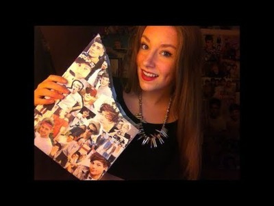 DIY One Direction magazine holder