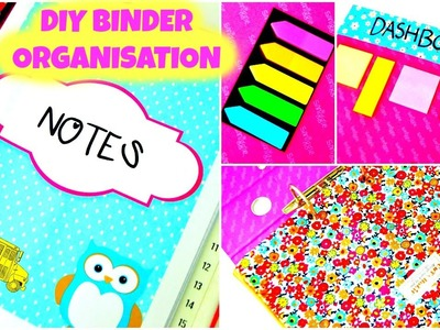 DIY: Organization Binder | How To Organize Your Binder & DIY TIPS! | BACK TO SCHOOL 2015