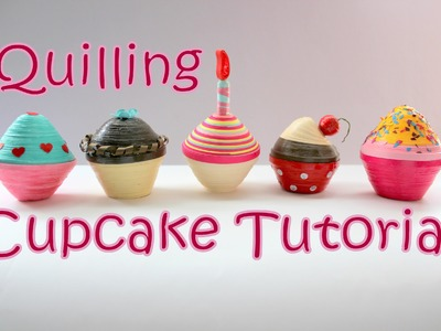 DIY: Quilling Cupcake Making Tutorial