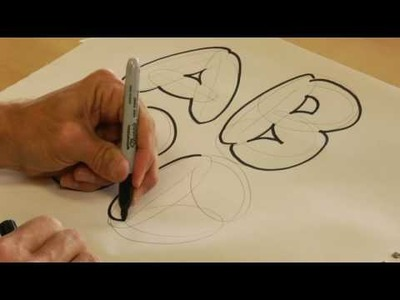 Drawing Lessons : How to Draw Bubble Letters