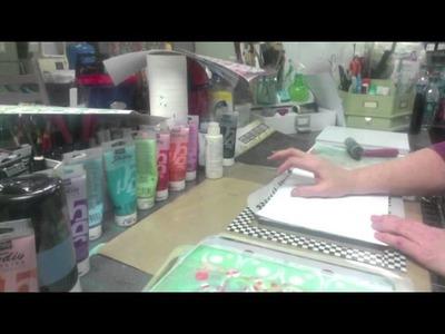 Gelli Printing Powered by iStencils - Part 1 - Patti Tolley Parrish