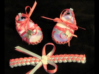 Handmade  Girl Collection (Headbands, Bows and Shoes)
