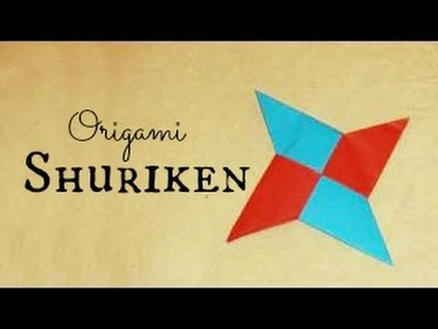 (HD) Shuriken.Ninja Star Origami Instructions