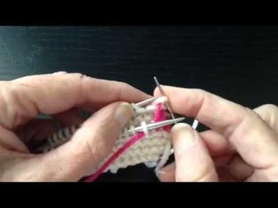 How to Knit Kitchener Graft in Garter Stitch