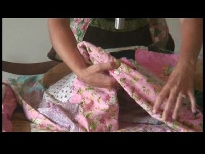 How to Make a Family Quilt : Making a Family Quilt: Finish