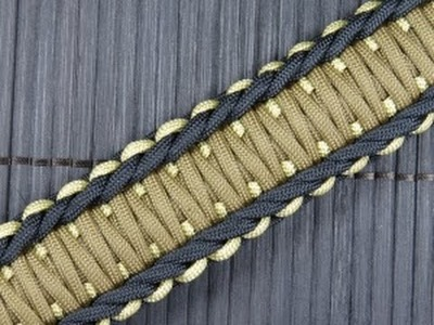 How to make a Rigid King Cobra Paracord Buckle Bracelet