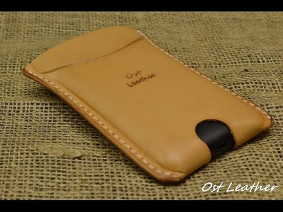 How to make a simple leather case for mobile phone