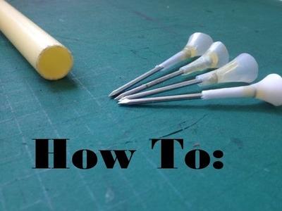 How to Make Darts for a Blowgun.Airgun