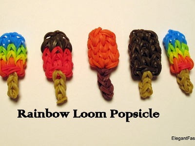 How to make Rainbow Loom Popsicle Charm - How to