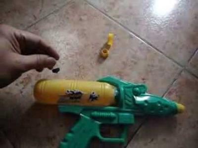 How to repair your Water Gun - Como Reparar tu Pistola de Agua