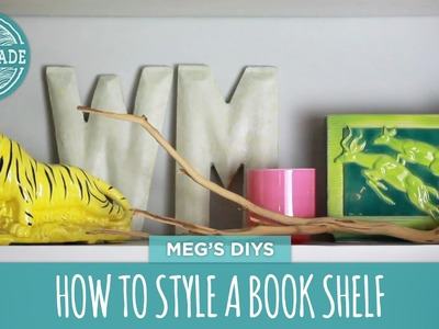 How To Style a Book Shelf - HGTV Handmade