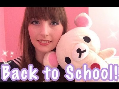 Kawaii Back to School: Lockers, Bento & Bags, DIY